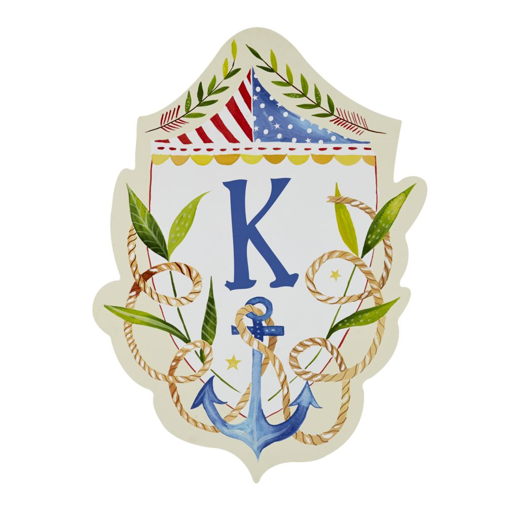 Sail Away Monogram Wall Decals (Anchor)