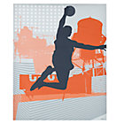 Basketball Most Valuable Decal Poster