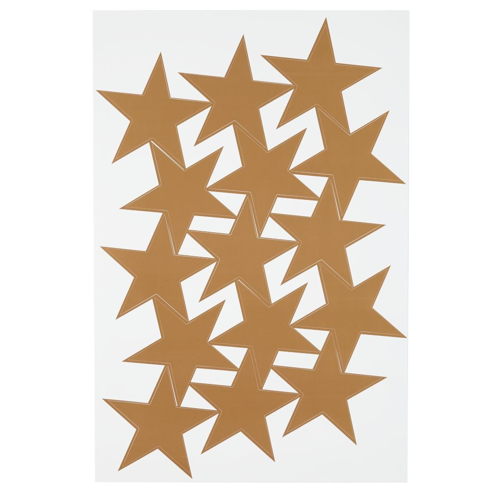 Star Bright Decal (Gold)