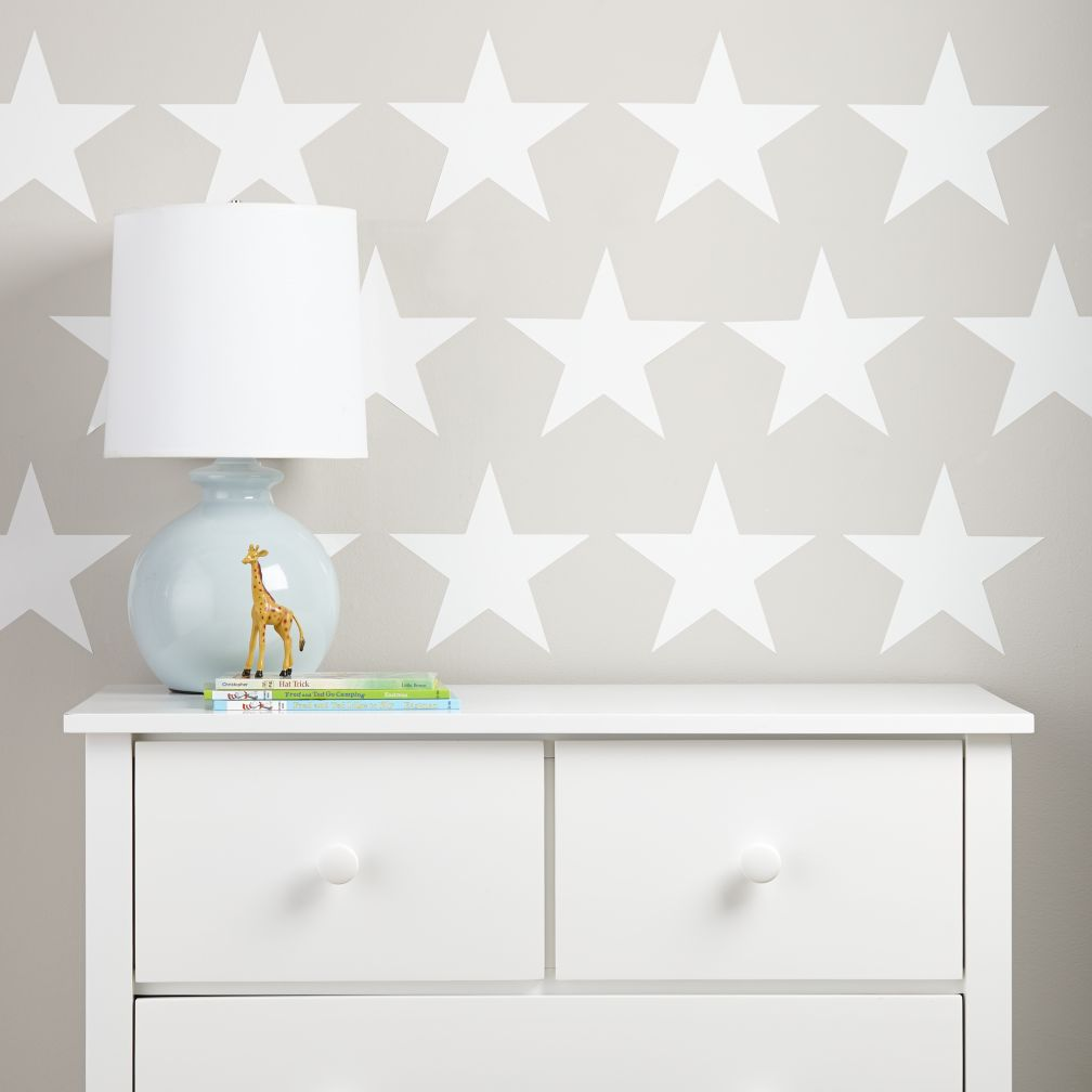 Star Bright Decals (White)