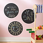 Circle Chalkboard Decal