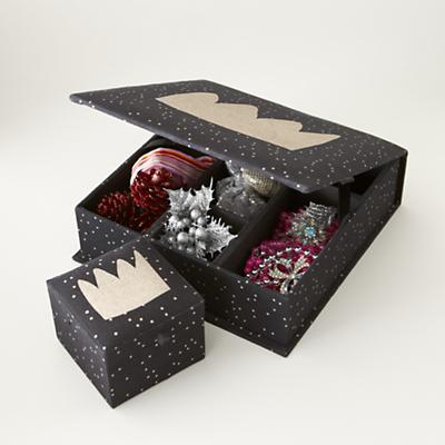 Sparkle Storage Boxes (Black)