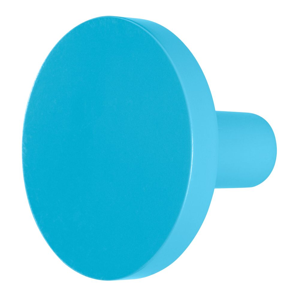 Can&#39;t Miss Wall Knob (Blue)