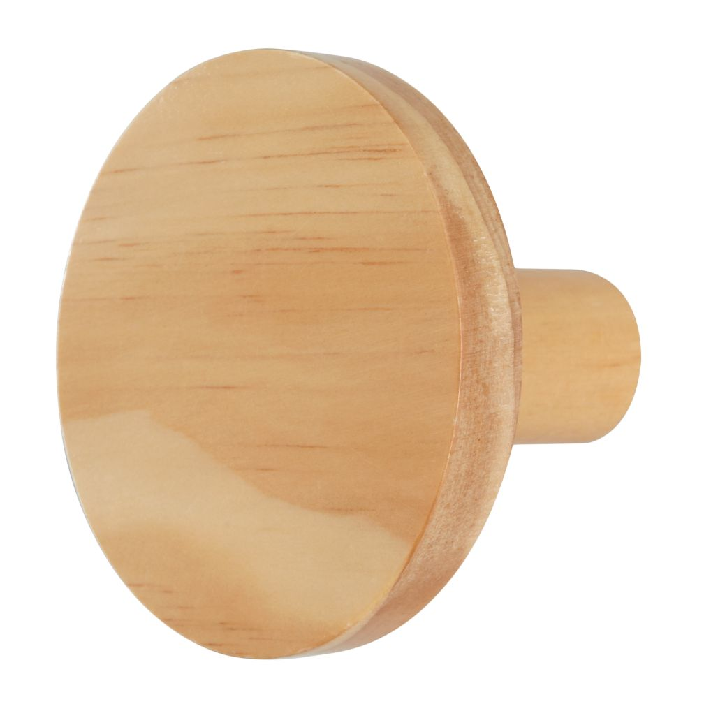 Can't Miss Wall Knob (Wood)