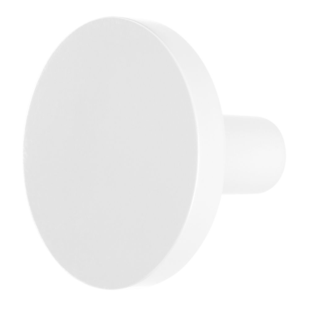 Can't Miss Wall Knob (White)