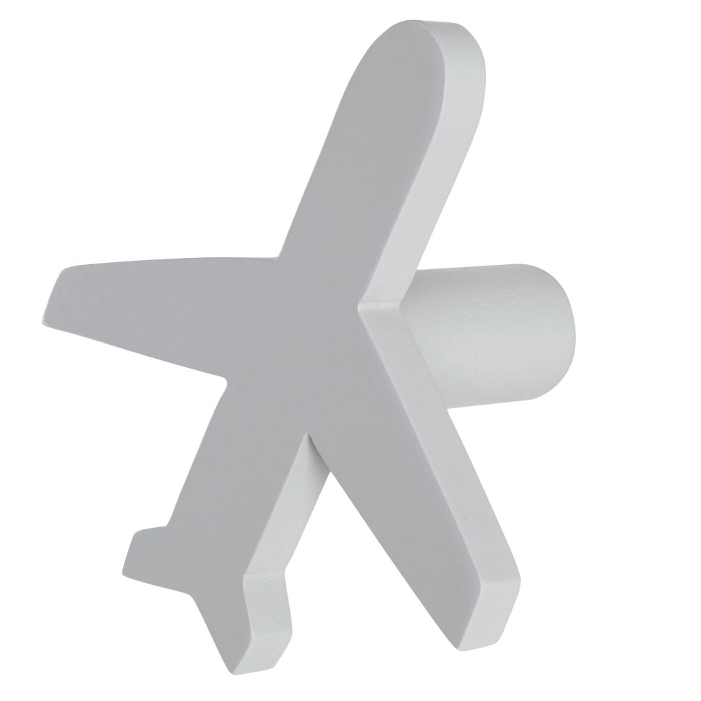 Can&#39;t Miss Airplane Knob (Grey)