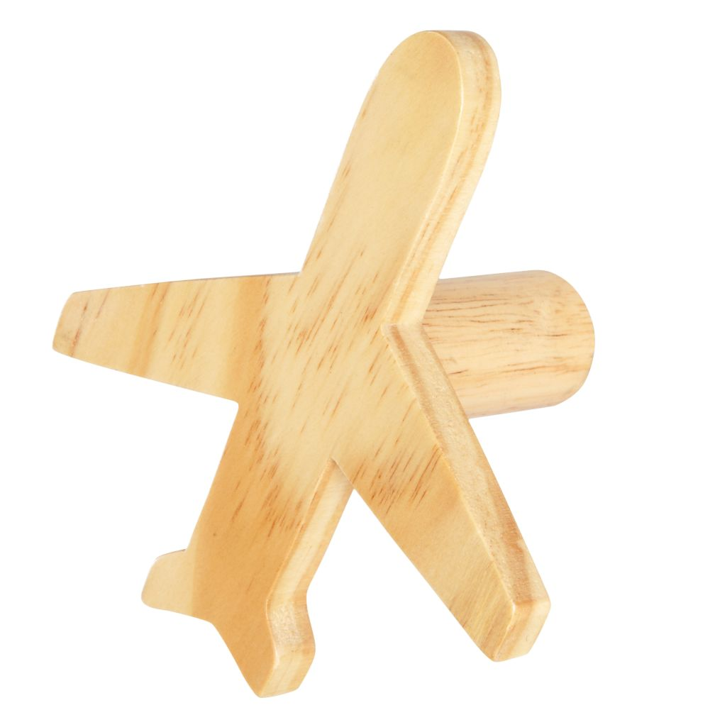Can&#39;t Miss Plane Knob (Wood)