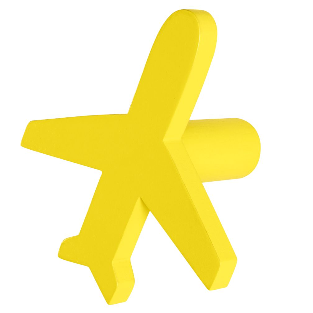Can&#39;t Miss Airplane Knob (Yellow)