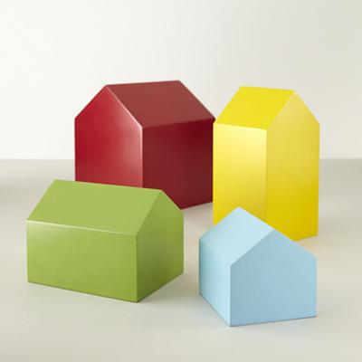 Prefab Houses (Set of 4)