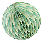 Medium Green Well Rounded Paper Ball