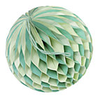 Small Green Well Rounded Paper Ball