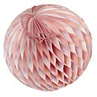Small Pink Well Rounded Paper Ball