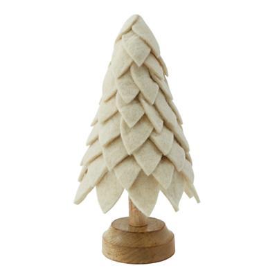 Tabletop Tannenbaum (Cream)