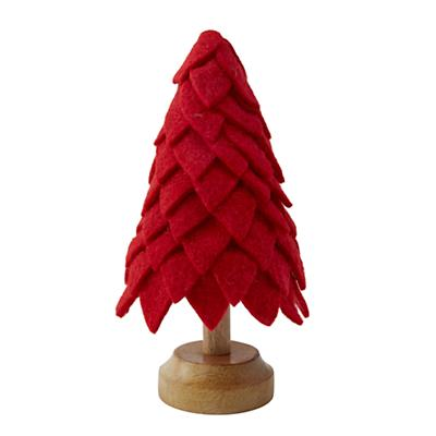 Tabletop Tannenbaum (Red)