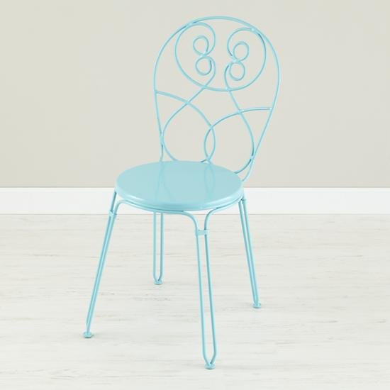 Kids' Chairs: Kids Light Blue Play Chair | The Land of Nod