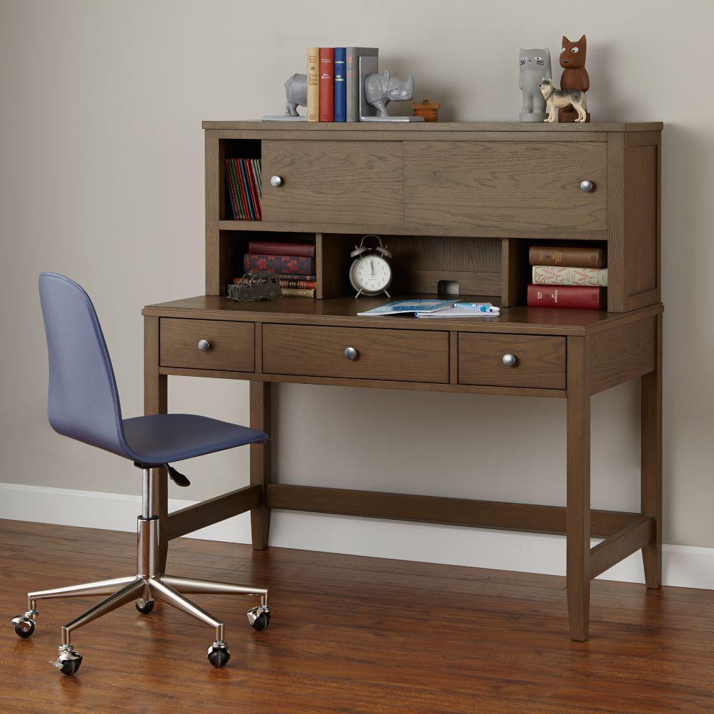 Bayside Desk & Hutch (Cocoa)