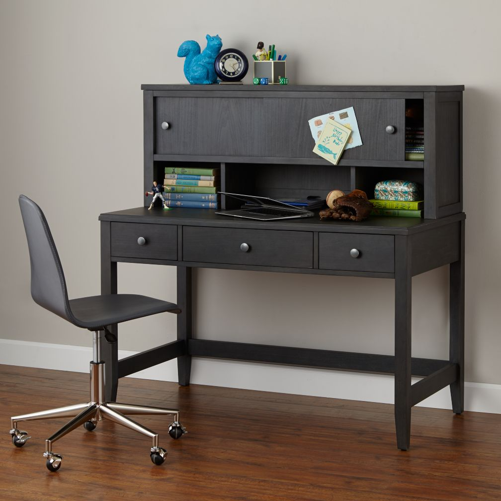 Bayside Desk & Hutch (Denim)
