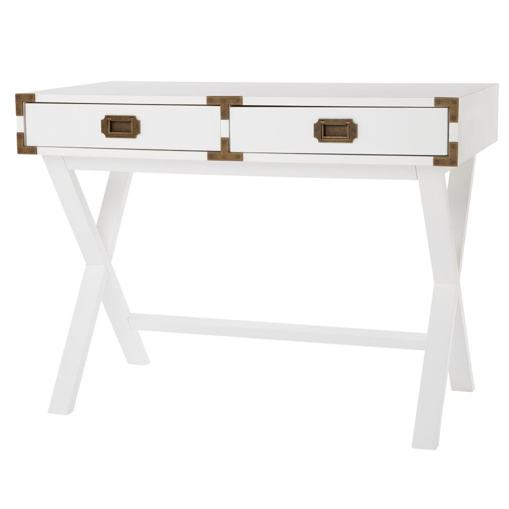 Campaign Desk (White)