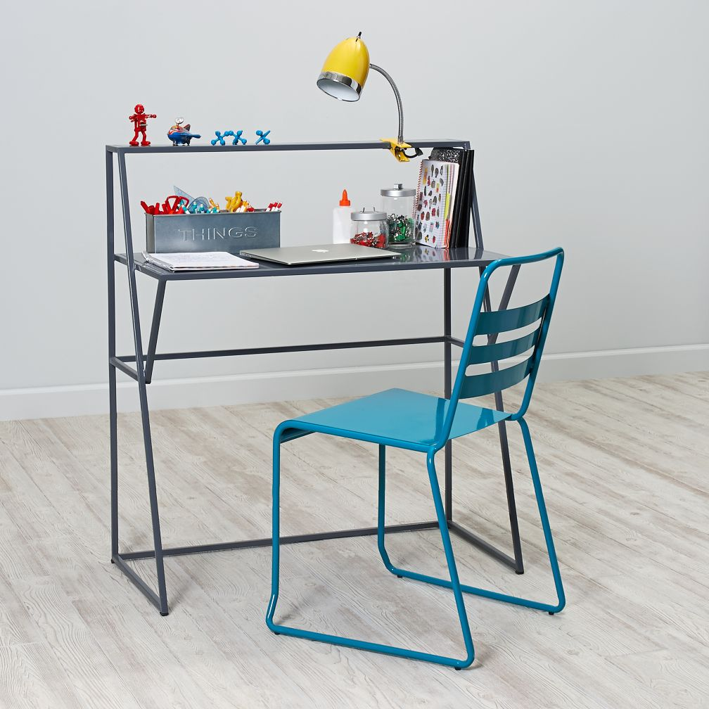 Metalwork Desk (Grey)