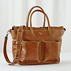 Tan Matt and Nat Diaper Bag