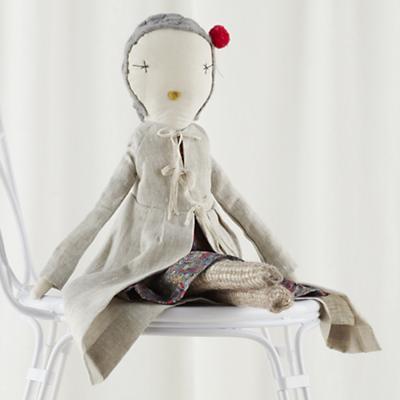 """22"""" Jess Brown Doll Dottie"""