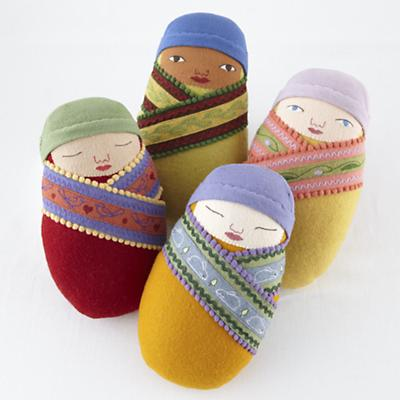 Doll_Kirchner_Swaddle_Baby_Group