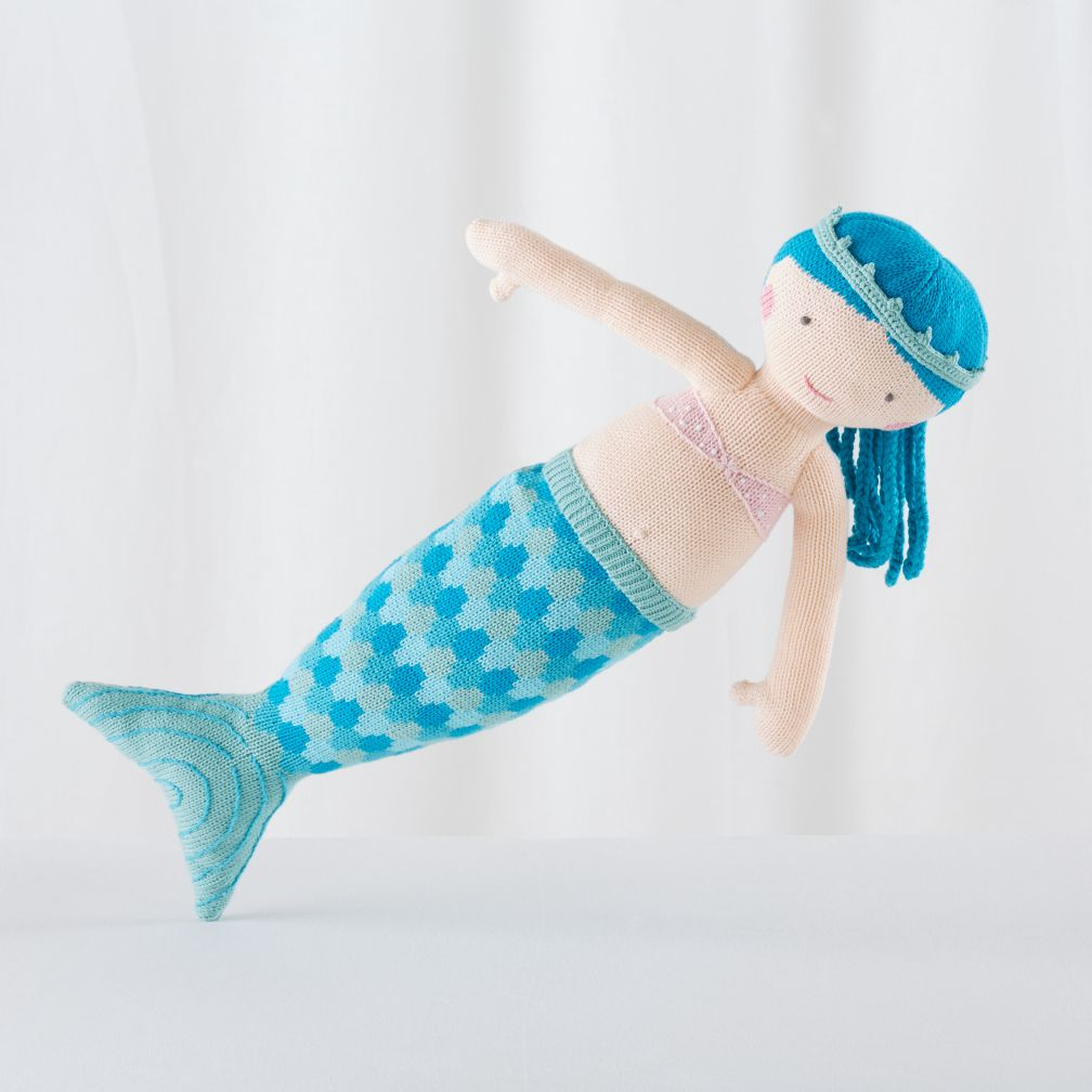 "The 24"" Knit Crowd Mermaid (Ina)"