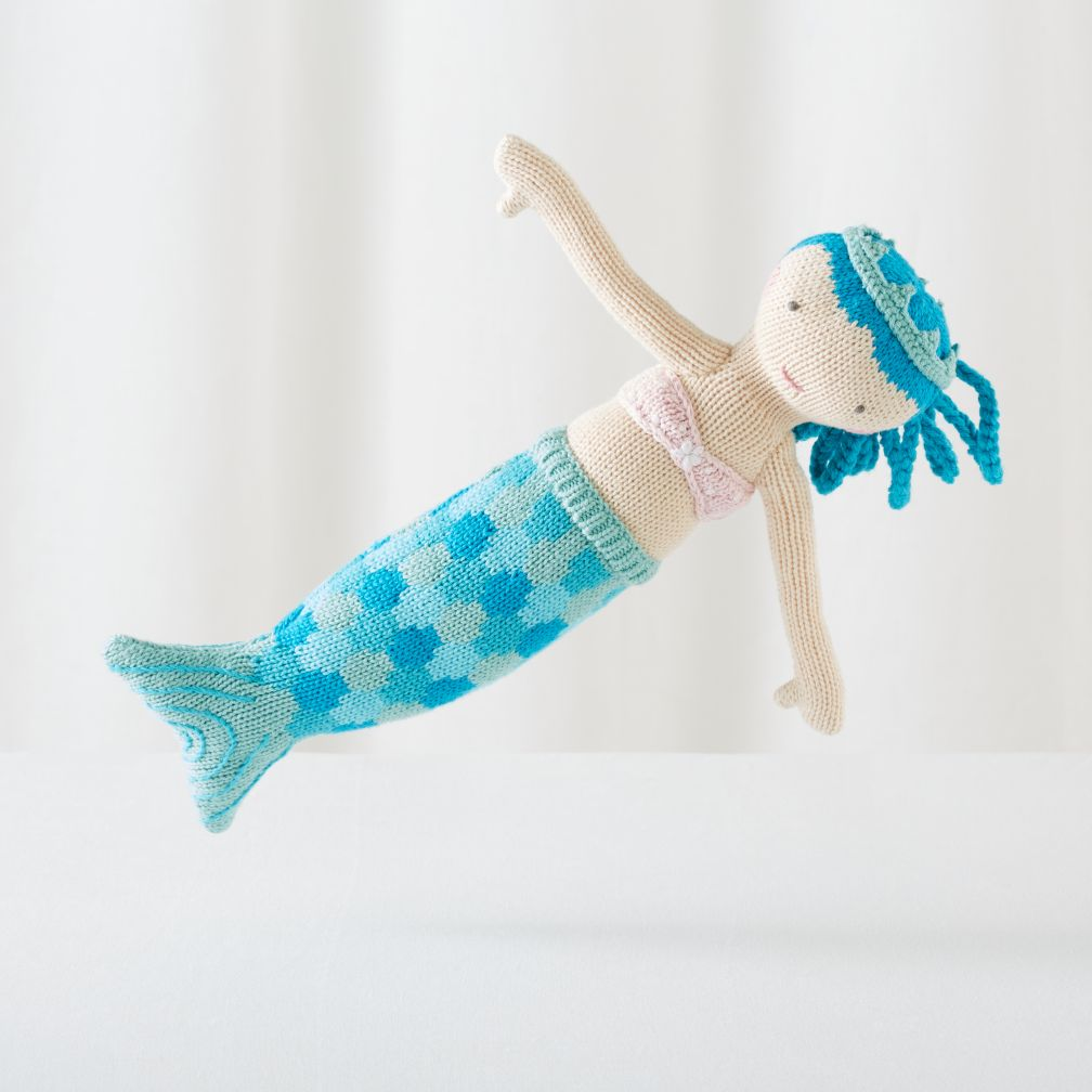 "The 14"" Knit Crowd Mermaid (Ina)"