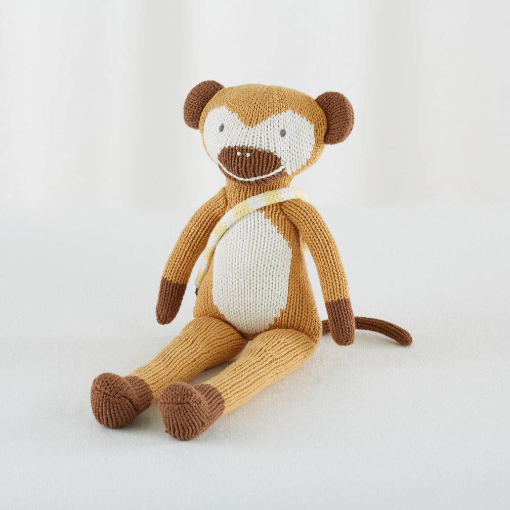 "The 14"" Knit Crowd Monkey"