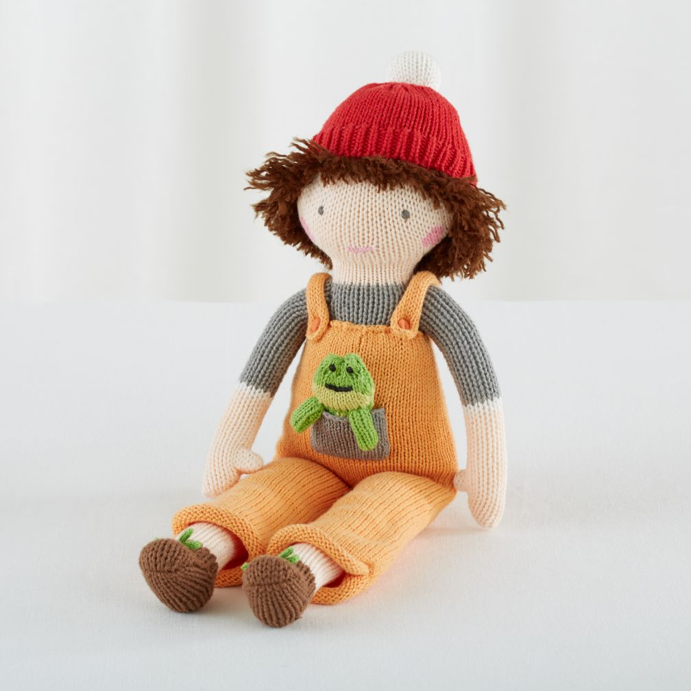 "The 14"" Knit Crowd Doll (Pat)"