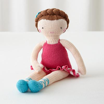 The Knit Crowd Doll (Brown Hair)