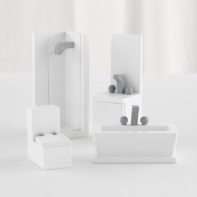 Modern Dollhouse Bathroom