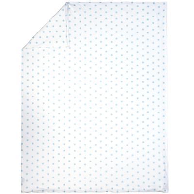 Blue Pastel Dots Duvet Cover (Twin)