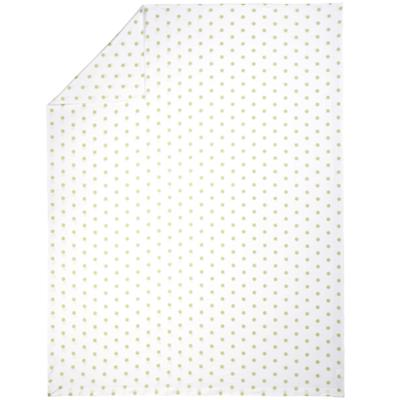 Green Pastel Dots Duvet Cover (Full-Queen)