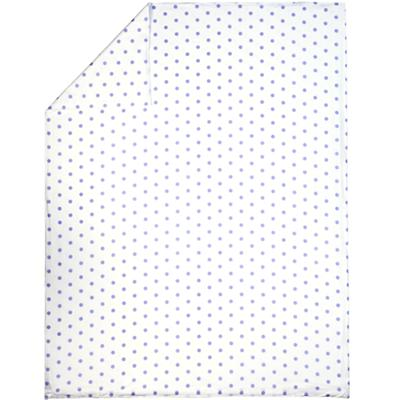Full-Queen Lavender Pastel Dots Duvet Cover