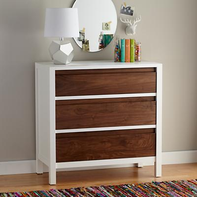 Andersen 3-Drawer Dresser (Walnut)