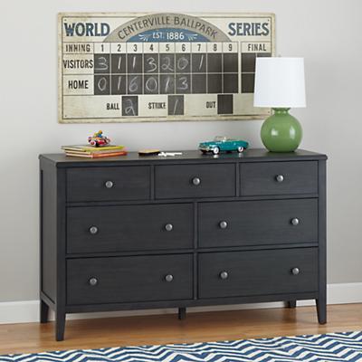 Bayside 7-Drawer Dresser (Denim)