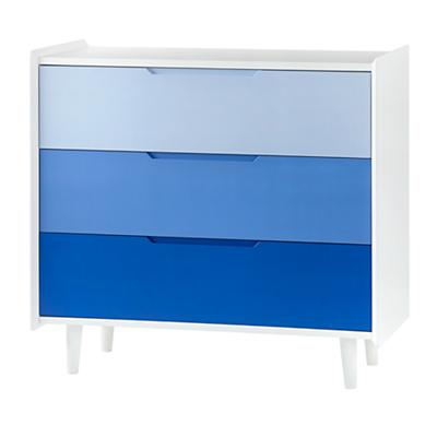 Chromatic 3-Drawer Dresser (Blue)