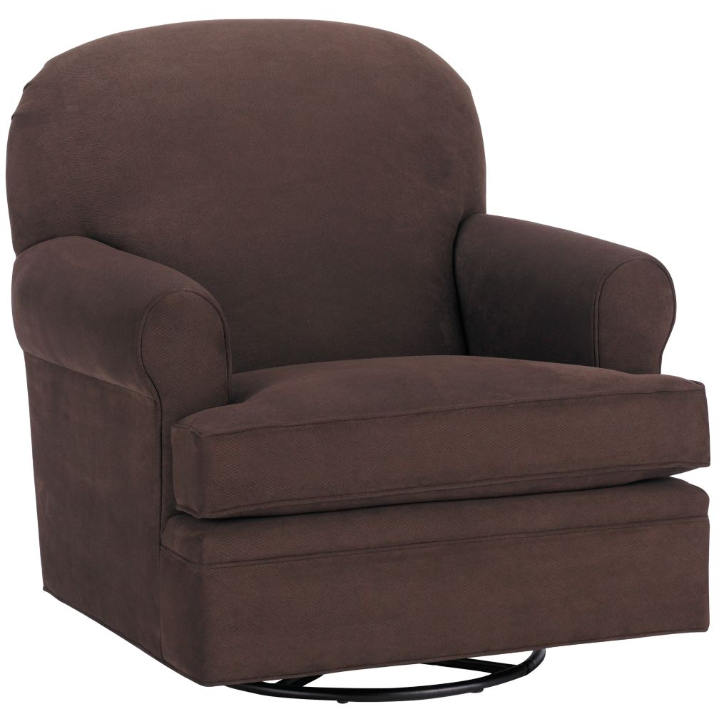 Dylan Swivel Glider (Chocolate)