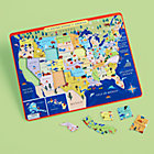 Mountain to Prairie USA Map Tray Puzzle