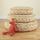 These Floor Cushions Really Stack Up (Floral)