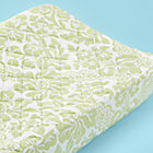Green Floral Changer Pad Cover