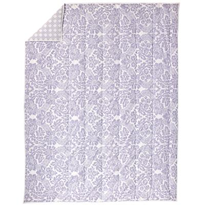 With a Flourish Lavender Comforter (Full-Queen)