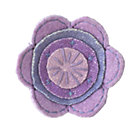 Lavender Felt Flower
