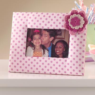 Fantabulous Fabric Frame (Pink)