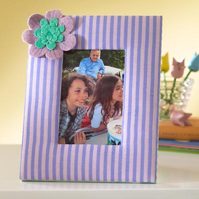 Fantabulous Fabric Frame (Purple)