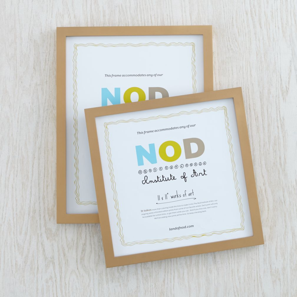 Nod Institute of Art Frame (Gold)