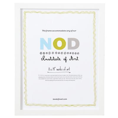 "11 x 14"" Nod Institute of Art Frame (White)"
