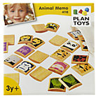 Wooden Animal Memory Game