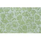 4 x 6' Lt. Green Raised Floral Rug
